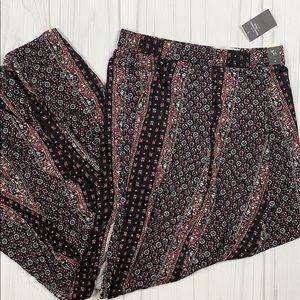 Abercrombie maxi slit boho skirt